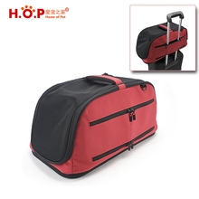 Amazon Hot Products Air In-Cabin Dog Carriers Travel Foldable Soft Sided Pet Carrier For Airline Promotional Products
