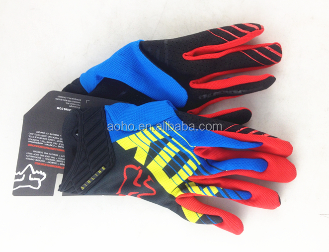 Popular Racing Motorcycle Motorbike Motocross Cycling Dirt Bike ciclismo Full Finger Gloves