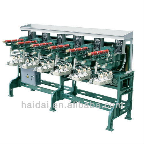 High speed Cone sewing thread winding machine