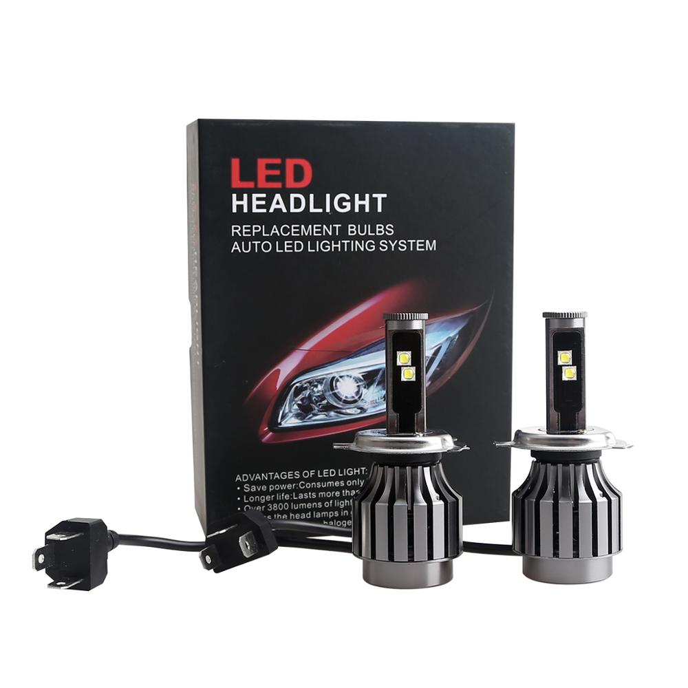 DDL 2S H4 led headlight <strong>bulb</strong> all in one auto headlight high low beam 40W for 12V 24V car