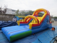 hot selling commercial inflatable slide for kids