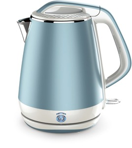 2018 the best hot sale LJ-8815 stainless steel electric water kettle beautiful appearancel cordless 360 degree rotation base