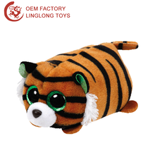 Oem 3D Tiger Computer Cleaner Wipes Brown Stripe Animal Screen Wipes For Camera Plush Tiger Mobile Phone Screen Cleaner