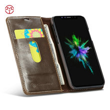CaseMe Wholesale Smartphone Case for iPhone 8 PU Leather Flip Case for iPhone8 Stand Cell Phone Case for iphone 7 7s