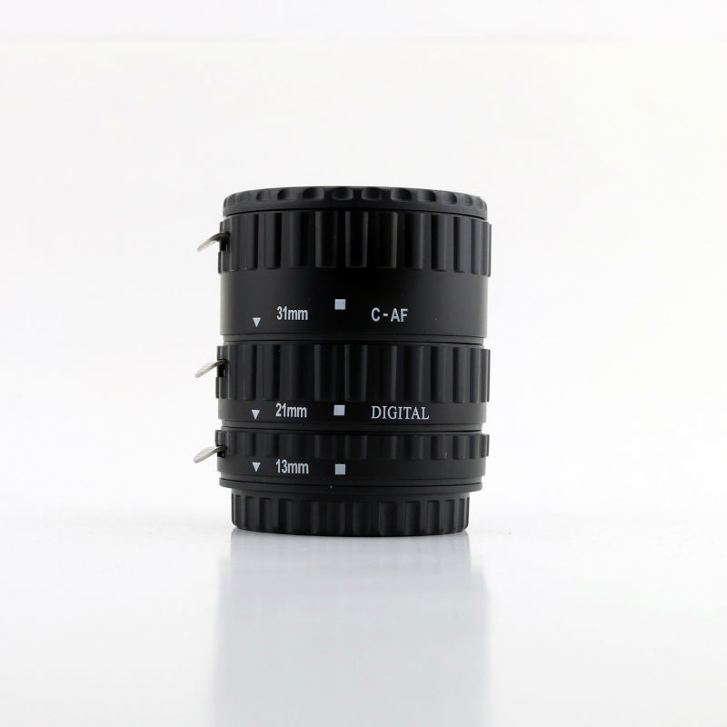 Meikon Auto Extension Tube Set for Canon 35mm SLR Camera