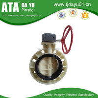 irrigation flow control butterfly valves for waste water treatment