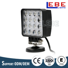 Auto led square 48w led work light LB2016