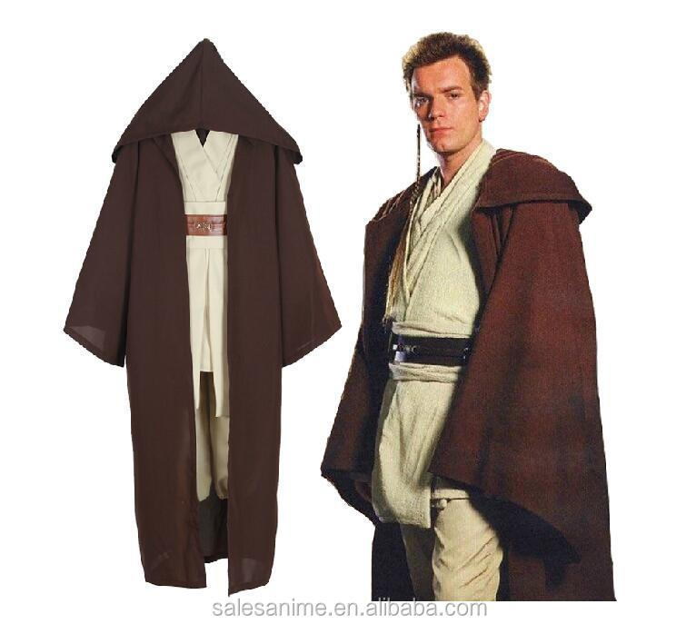 2016 Hot sale Jedi Costumes Halloween Costumes for men Costumes Halloween cosplay