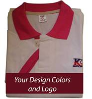 Pink and OffwhiteT Shirt - Good Quality Polo T Shirts