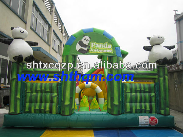 inflatable panda fun city
