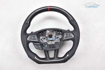 2017 most popularCarbon Fiber racing car steering wheel For Ford F ocus