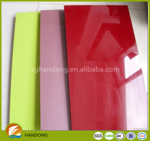 1220x2440x18 mm Laminated melamine MDF / acrylic mdf / high glossy UV MDF Sheet for iran market