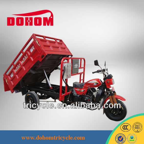 Hydraulic Tip / Dump Hopper bajaj three wheel motorcycle