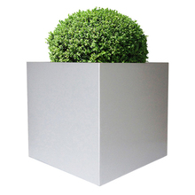 gardening square tall self watering planter