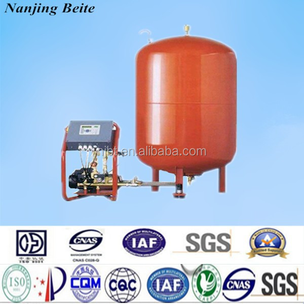 constant pressure water refilling station floor expansion tank