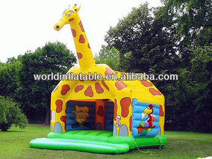 2013 new attractive inflatable animal bouncer