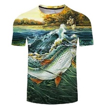Custom polyester Sublimation print UPF 50+ mens dry fit Fishing Shirt short Sleeves fishing <strong>wear</strong> Outdoor <strong>Sports</strong> tshirt
