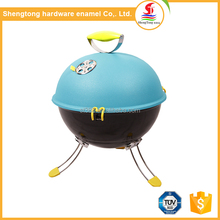 2017 New product colorful mini smokeless charcoal barbecue grill for portable outdoor bbq