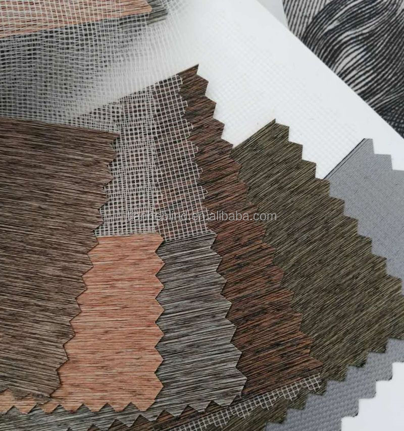 custom decorative blockout fabric zebra roller window blind sun shade