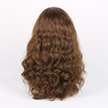 20 inches Mongolian Hair Body Wave Jewish Band Fall Wig