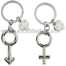 Male Symbol and Female Symbol Key Chains