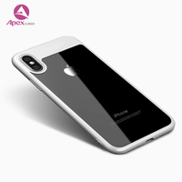 2018 New Arrivals Clear Transparent Crystal tpu Hard Cover Phone Case for iphone x for iphone 8 Mobile Phone Shell