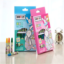Duckey professional factory kids educational stationery oil pastel supplier