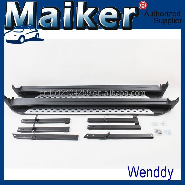 Aluminiun alloy side step bar from Maiker for Nissan X-Trail 2014 running board 4x4 accessories from maiker
