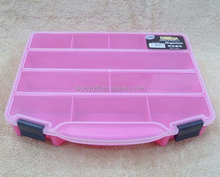Pink 10 Compartments 14 Day pill storage box