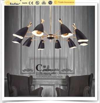 Modern Indoor Decoration Lights Contemporary Lighting Big Chandelier Pendant Lamps
