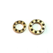 ceramic Si3N4 ball brass cage thrust ball bearing F5-10M 5mm bore