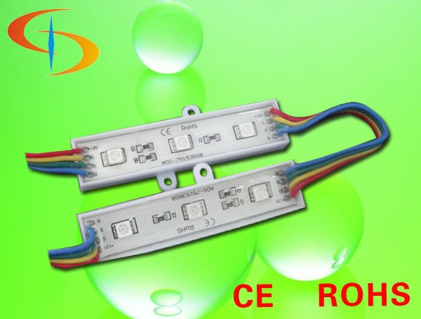 IP66 outdoor waterproof DC12V full color RGB LED module light Addressable module Leds for signboard