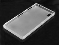 cheap and fine powerful waterproof luxury back clear tpu case for sony z3