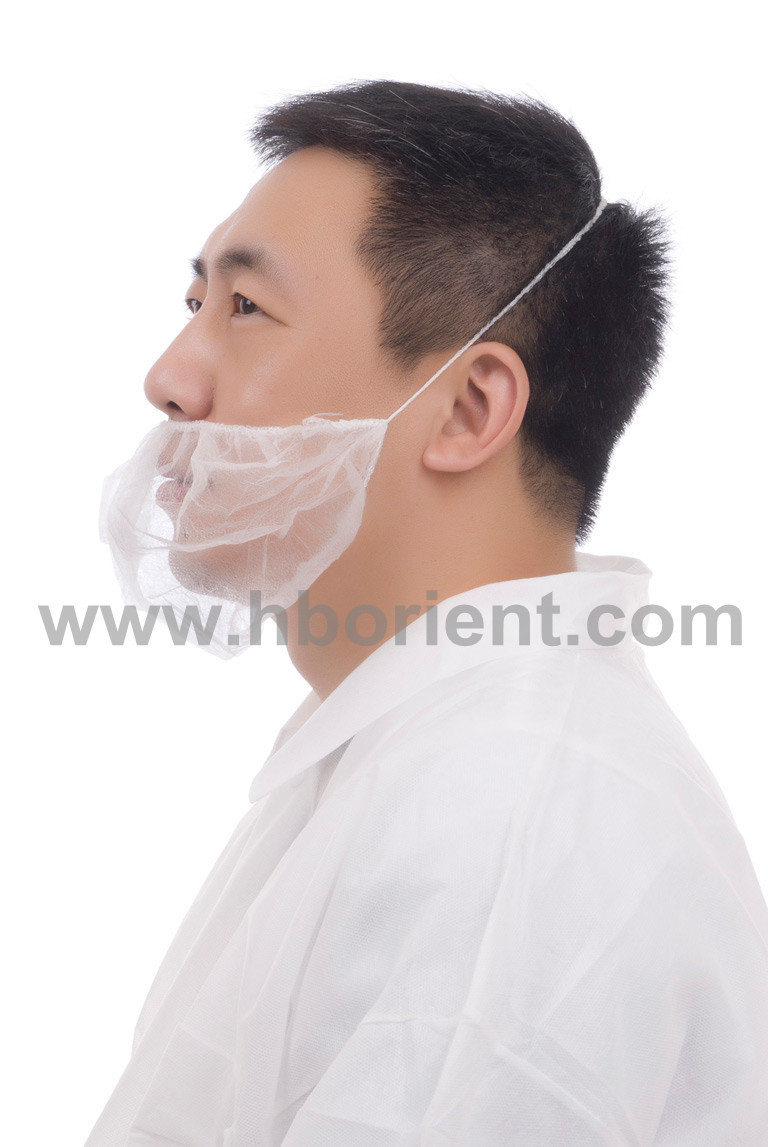 Free Sample For Surgical nonwoven beard cover beard mask