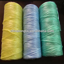 pp cable filler yarn/polyester sewing thread/packing rope/hay baling twine