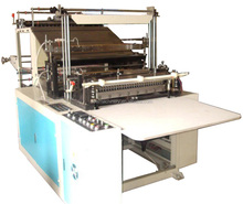 Print Polythene Plastic T Shirt Carry Bag Making Machine Price