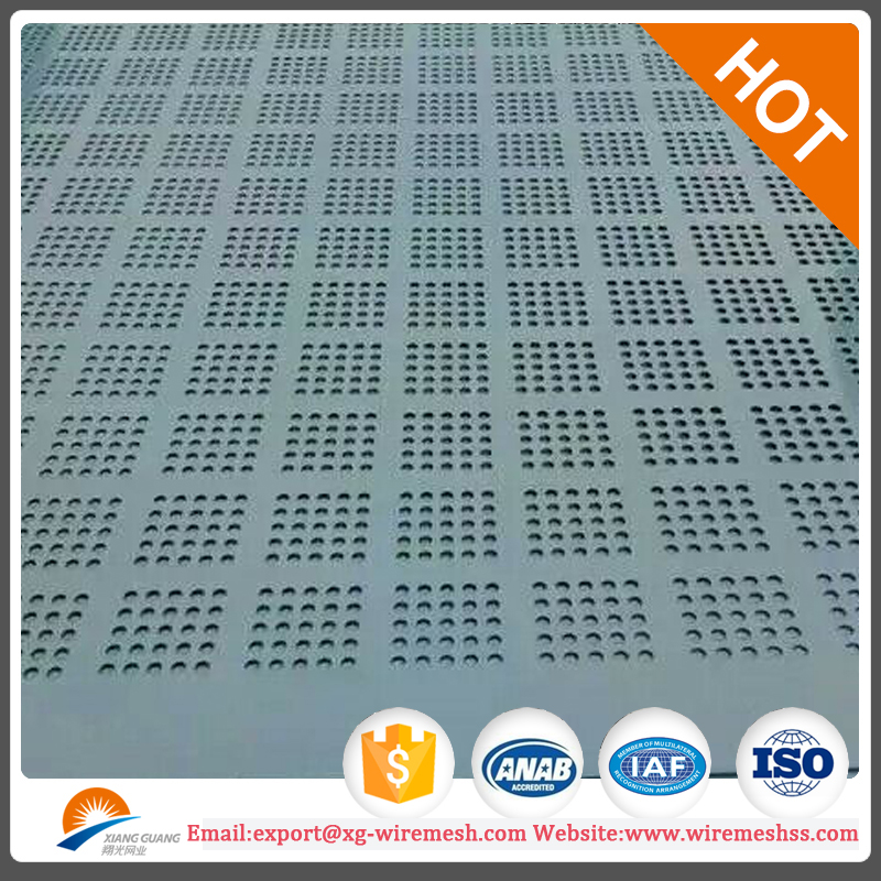 perforated mesh/aluminum louver