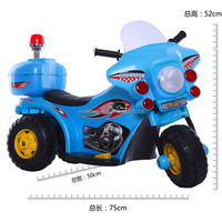 6V 3 wheel Police motorcycle for children/Battery Power Plastic Kids Police Motorcycle