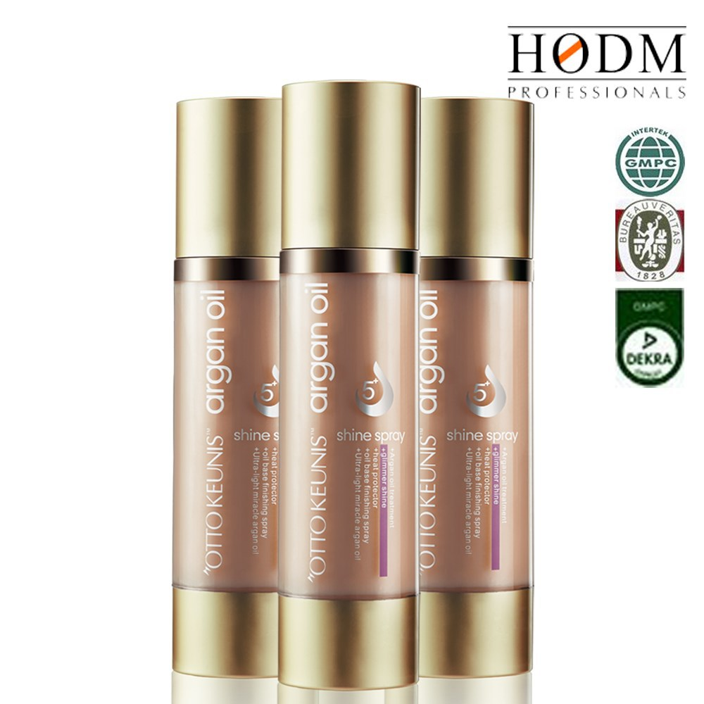 Nourish hair spray for anti grey hair treatment argan hair spray HODM 100ml