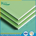 Green paper-faced water-resistant ceiling board
