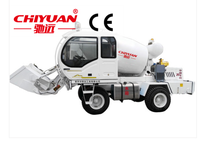 JBC2.0 Automatic feeding mixer truck/ Self Loading Cement Mixing Mini Mobile Concrete Mixer Truck