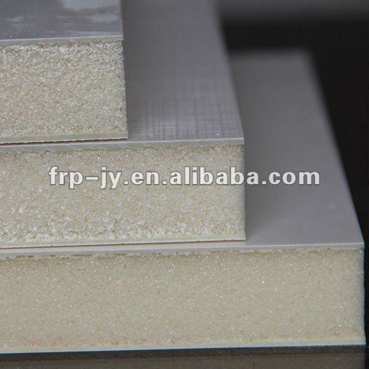 PU Insulation Core Reinforced FRP Sandwich Panel (China Best) for Cold Room Refreezer
