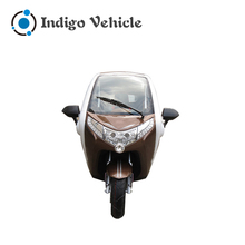 Cheap Price Electric Mobility Closed Delivery Motor Tricycle for Sale