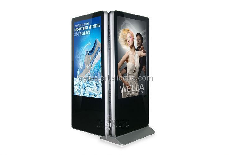 "LG/ Samsung 55"" Floor standing Standalone panel, PC digital signage, LCD digital signage"