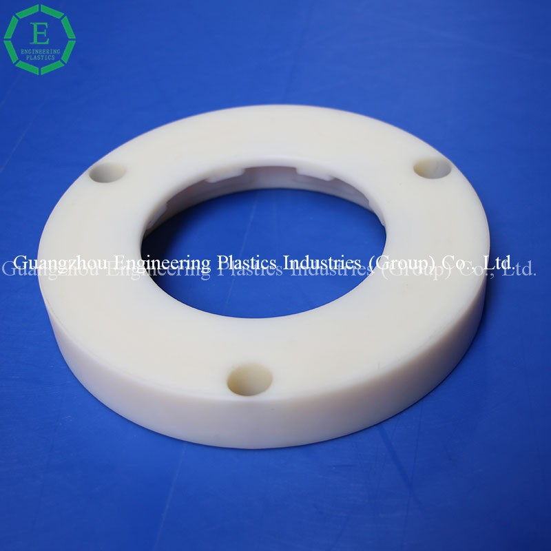 Professional manufacture plastic uhmwpe round washer custom plastic pe spacer