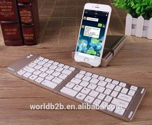 Bluetooth Folding Keyboard with Tablet Stand function