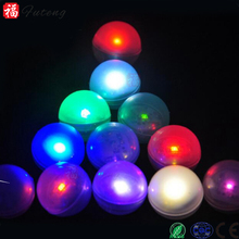 2016 New Floating Submersible Mini LED Fairy Pearls Tea Lights Hookah Light Balls