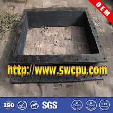 Large Rubber Coupling and Rectangular Rubber Flange