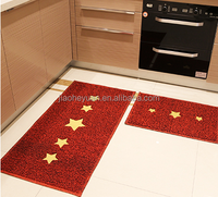 anti-slip weter-proof kitchen pvc coil floor rubber door carpet