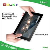 "9"" inch android 4.4 super smart tablet pc Quad Core 8GB Wi-Fi Boxchip A33 android Wholesale tablet"